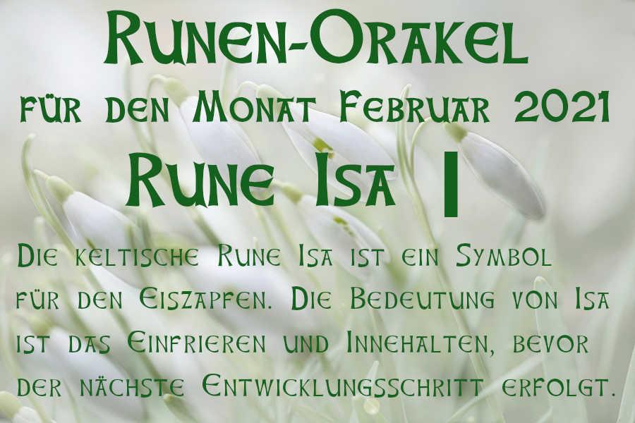 Runen Orakel Februar 2021