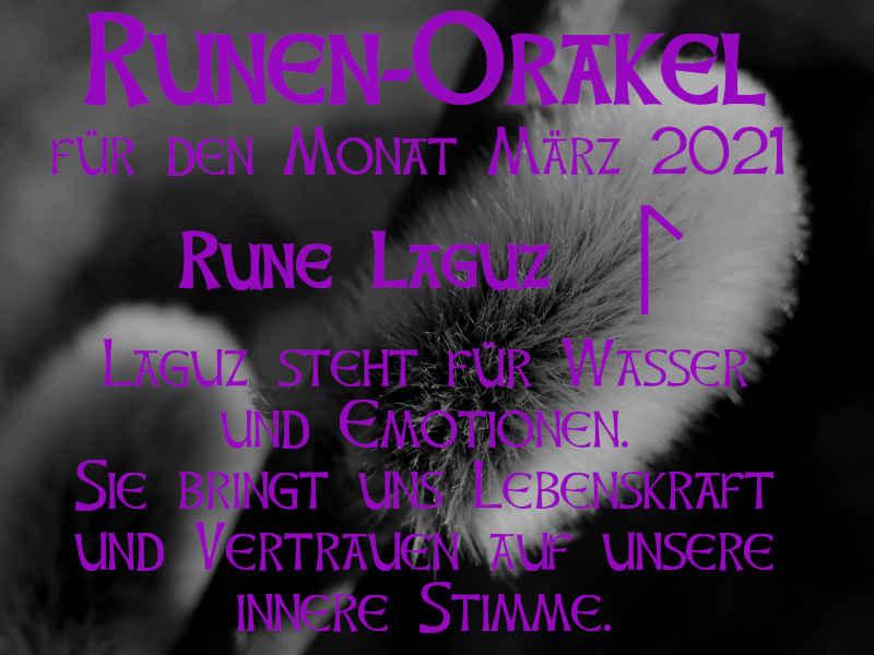 Runen Orakel März 2021