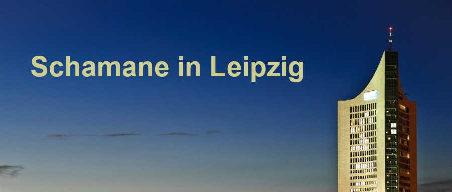 Schamane in Leipzig